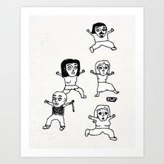 zombies Art Print
