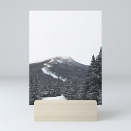 Vermont Ski Mountain Mini Art Print