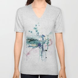 A Mystic Encounter No.1k by Kathy Morton Stanion Unisex V-Neck