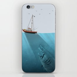 We're Gonna Need a Bigger Boat iPhone Skin