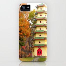 Jade Buddha Pagoda iPhone Case