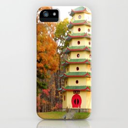 Jade Buddha Pagoda iPhone Case