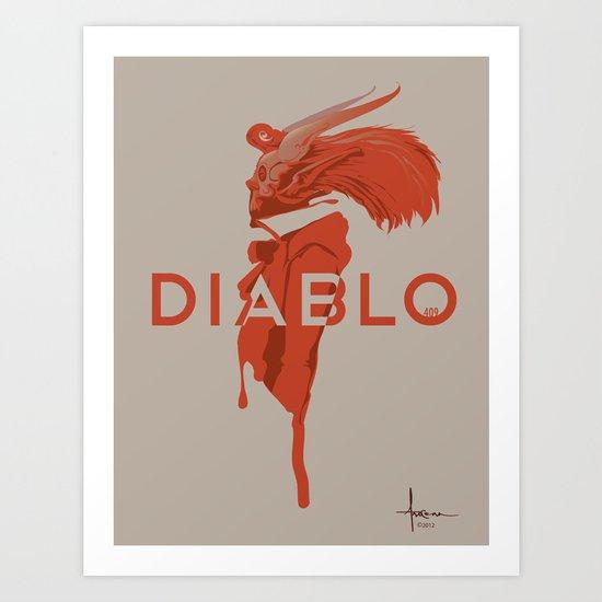 DIABLO409 Art Print