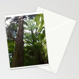 Stag Beetle in the Forest Stationery Cards