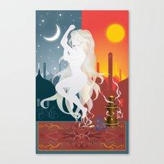 Opio Canvas Print