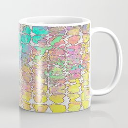 Pastel Abstract Blocks Coffee Mug