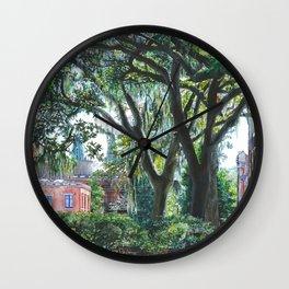 Dripping Foliage Wall Clock
