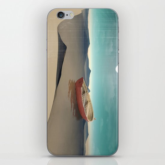 at sea in a void iPhone & iPod Skin