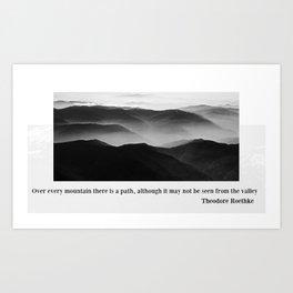 MOUNT EVEREST 004 Art Print
