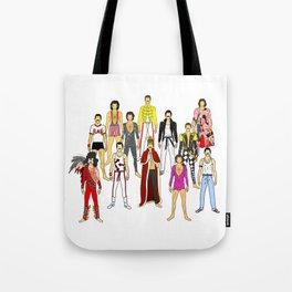Freddie Line Up Tote Bag