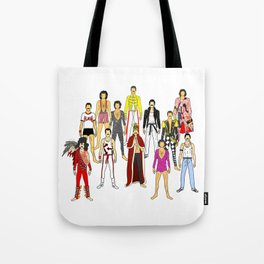 Champions Line Up Tote Bag