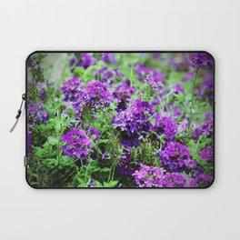 Purple Verbena Laptop Sleeve