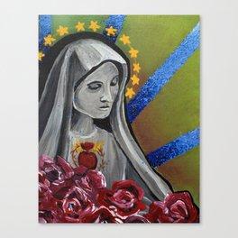 Virgin Canvas Print