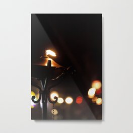 City Torch Metal Print