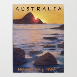 Poster Nelson Bay Poster