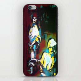 Les Amoureux iPhone Skin