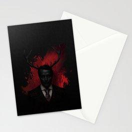 Hannibal Wendigo Stationery Cards