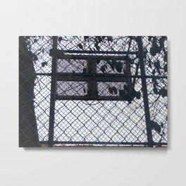 Hoop Dreams Metal Print