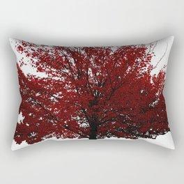 Tree on Canvas Rectangular Pillow