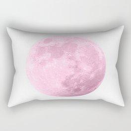 COTTON CANDY PINK MOON Rectangular Pillow