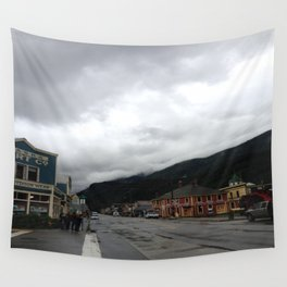 Small Town Alaska Wall Tapestry