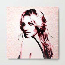 Britney Spears - Piece of Me - Pop Art Metal Print