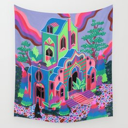 Wizard's House Wall Tapestry