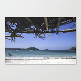 Beach at Lombok, Indonesia Canvas Print