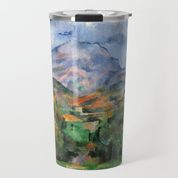 "Paul Cezanne ""Mont Sainte-Victoire"", c.1890 Travel Mug"
