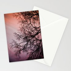 Purple & Fire Stationery Cards