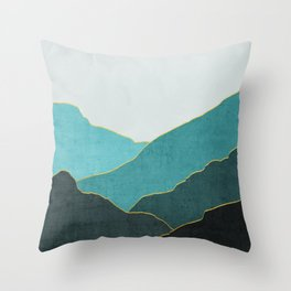 Minimal Landscape 04 Throw Pillow