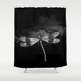DRAGONFLY II Shower Curtain