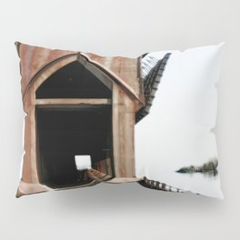 Surreal ore dock Pillow Sham