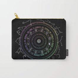 Astrological Magic Circle Carry-All Pouch