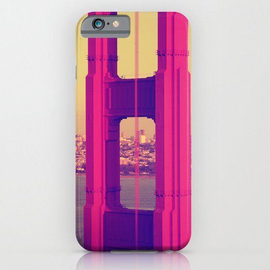 Golden Gate Into San Francisco iPhone & iPod Case