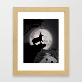 African Night Framed Art Print