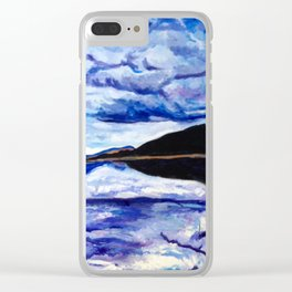 Road Trip Blues Clear iPhone Case