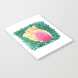 Tropical Tulip by Teresa Thompson Notebook