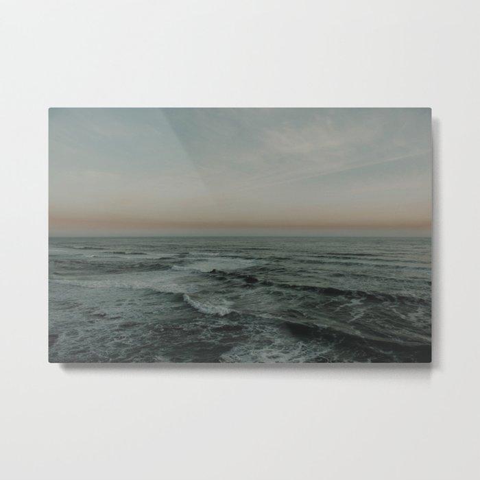 The calm ocean Metal Print