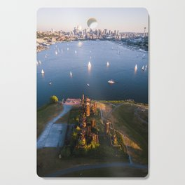 Gas Works and Lake Union Cutting Board