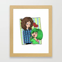 Hey There, Cool Guy! Framed Art Print
