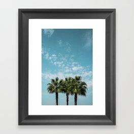 Good vibes. Landscape Framed Art Print