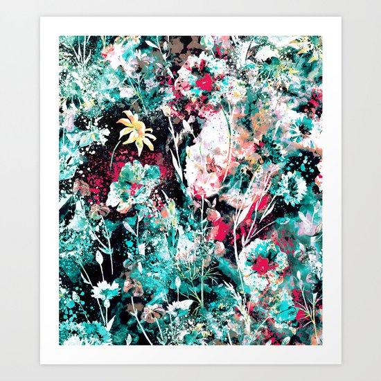 Space Garden II Art Print