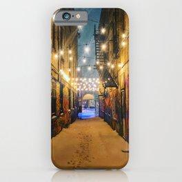 Winter Graffiti iPhone Case