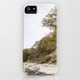 Along The Cliff On Baltic Sea iPhone Case