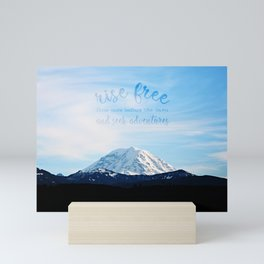 rise free from care before the dawn, and seek adventures Mini Art Print