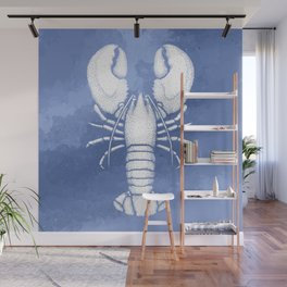 Divine Ascent of the Dominance Hierarchy - Pastel Blue Wall Mural