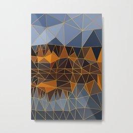 Autumn abstract landscape 3 Metal Print