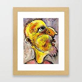 Portrait of a Wise Man Framed Art Print
