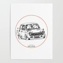 Crazy Car Art 0223 Poster